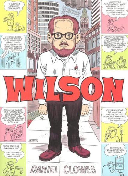 Wilson - Daniel Clowes | okładka