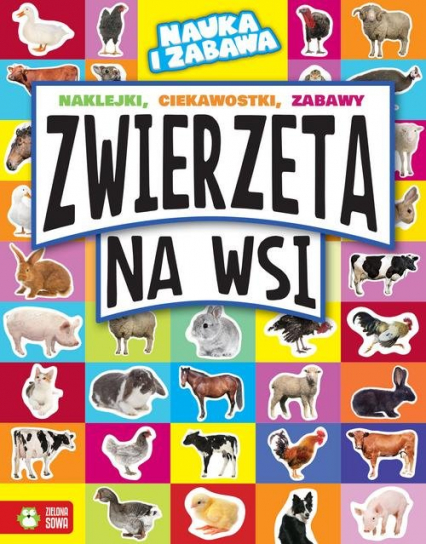 Zwierzęta na wsi - Marta Maruszczak | okładka