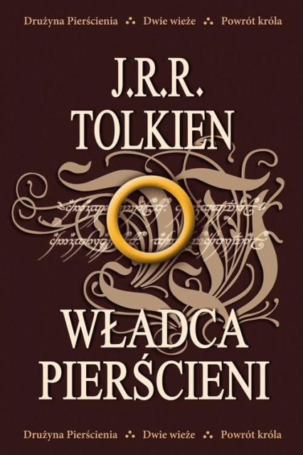 Władca Pierścieni - J.R.R. Tolkien   okładka