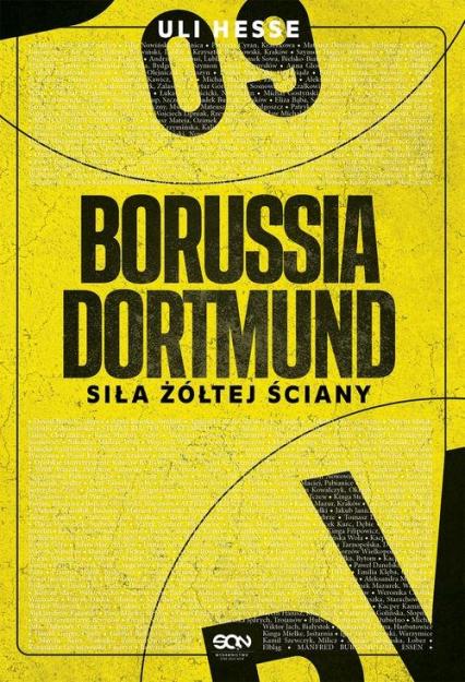 Borussia Dortmund Siła żółtej ściany - Uli Hesse | okładka