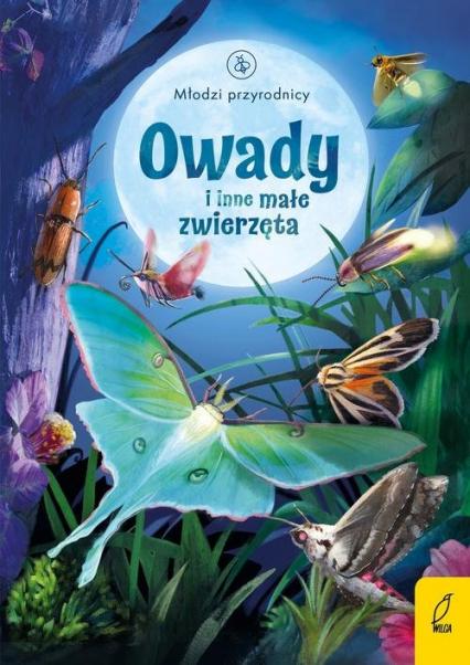 Młodzi przyrodnicy Owady i inne małe zwierzęta - Emily Bone | okładka