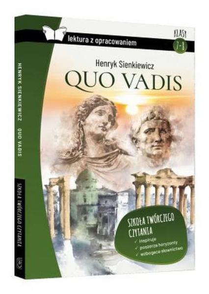 Quo vadis Lektura opracowaniem - Henryk Sienkiewicz   okładka