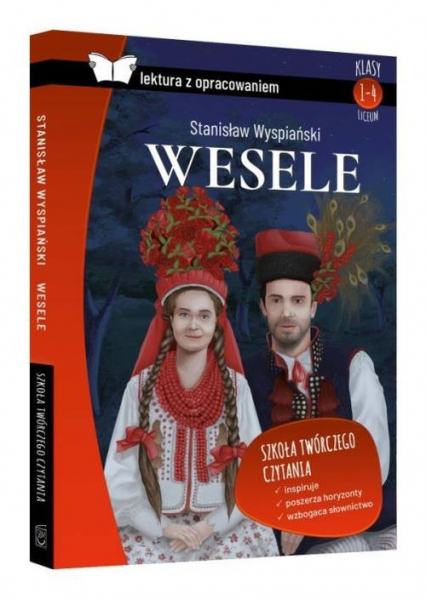 Wesele lektura z opracowaniem - Stanisław Wyspianski   okładka
