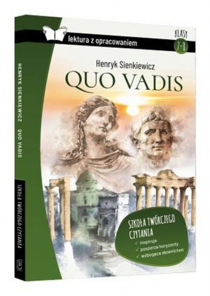Quo vadis Lektura z opracowaniem SBM - Henryk Sienkiewicz | okładka