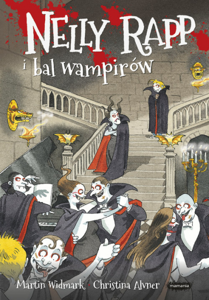 Nelly Rapp i bal wampirów - Martin Widmark | okładka