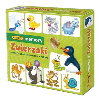Memory Zwierzaki -  | okładka