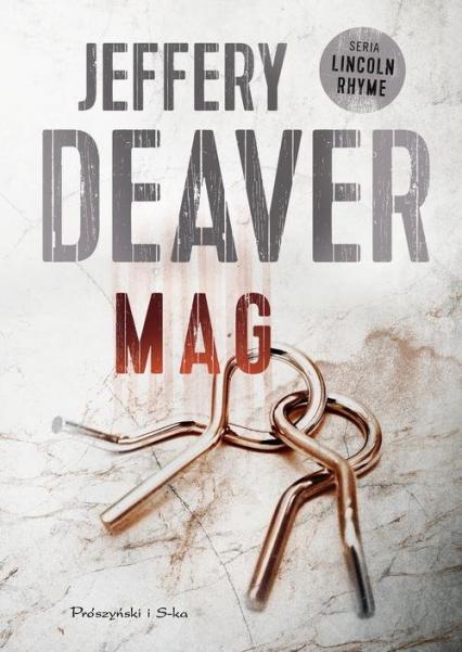 Mag - Jeffery Deaver | okładka