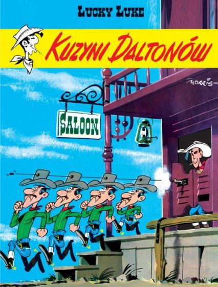 Lucky Luke Kuzyni Daltonów - René Goscinny | okładka