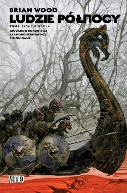 Ludzie Północy Tom 3 - Grant Morrison | okładka