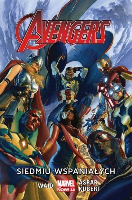 Avengers Siedmiu wspaniałych - Mark Waid | okładka