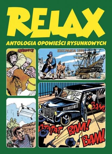 Relax Antologia opowieści rysunkowych Tom 3 -  | okładka