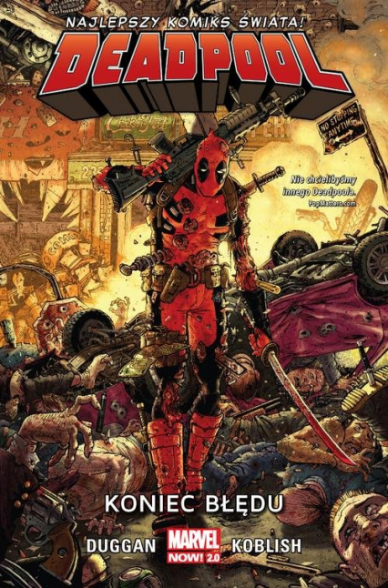 Deadpool Tom 2 Koniec błędu - Gerry Duggan   okładka