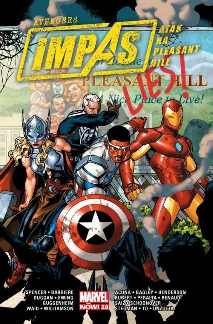 Avengers Impas Atak na Pleasant Hill - Spencer Nick, Barbiere Frank | okładka