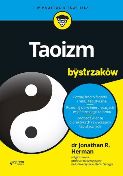 Taoizm dla bystrzaków - Jonathan Herman | okładka