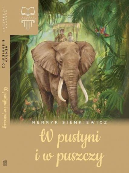 W pustyni i w puszczy - Henryk Sienkiewicz   okładka