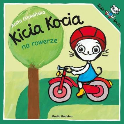 Kicia Kocia na rowerze - Anita Głowińska | okładka