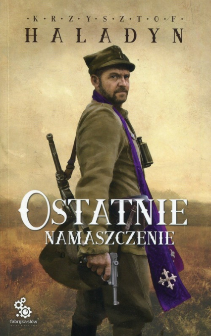Ostatnie namaszczenie - Krzysztof Haladyn | okładka