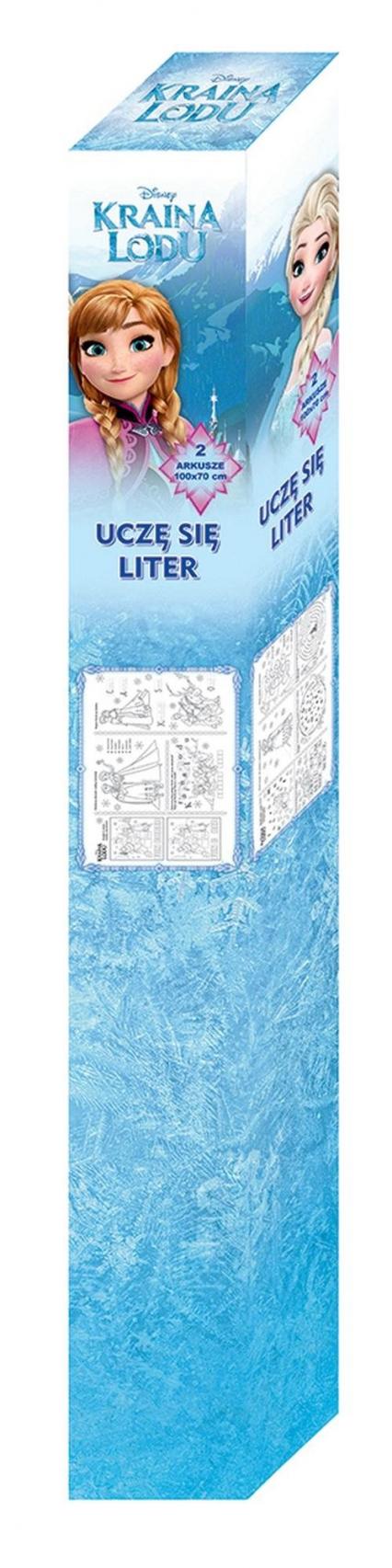 Kraina lodu Alfabet tablice -  | okładka