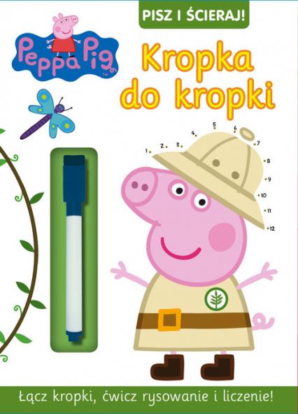 Peppa Pig Pisz i ścieraj nr 7 -  | okładka