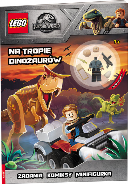 LEGO Jurassic World Tropiciel dinozaurów -  | okładka