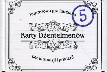 Karty dżentelmenów Epizod piąty -  | okładka