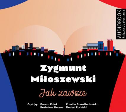 Jak zawsze (Audiobook) - Zygmunt Miłoszewski   okładka