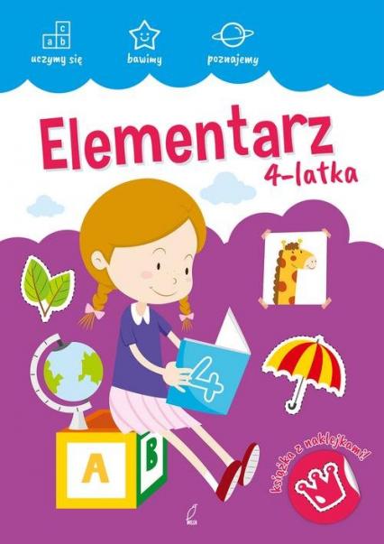 Akademia malucha Elementarz 4-latka -  | okładka