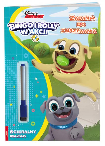 Bingo i Rolly Zadania do zmazywania PTC-9102 -  | okładka