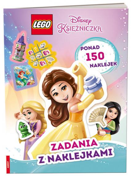 LEGO Disney Księżniczka Zadania z naklejkami SAF-6101 -  | okładka