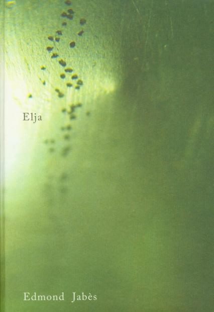 Elja - Edmond Jabes | okładka
