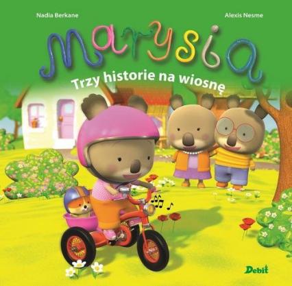 Marysia Trzy historie na wiosnę - Nadia Berkane | okładka