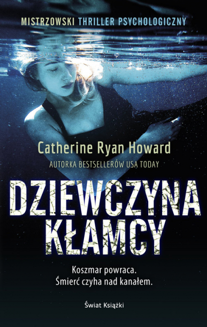 Dziewczyna kłamcy - Howard Catherine Ryan | okładka