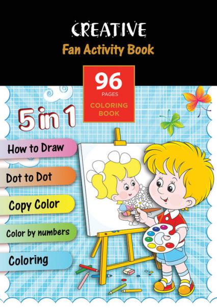 Książeczka do kolorowania Fun Activity Book -  | okładka