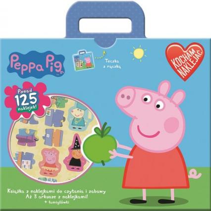Świnka Peppa Kocham naklejać -  | okładka