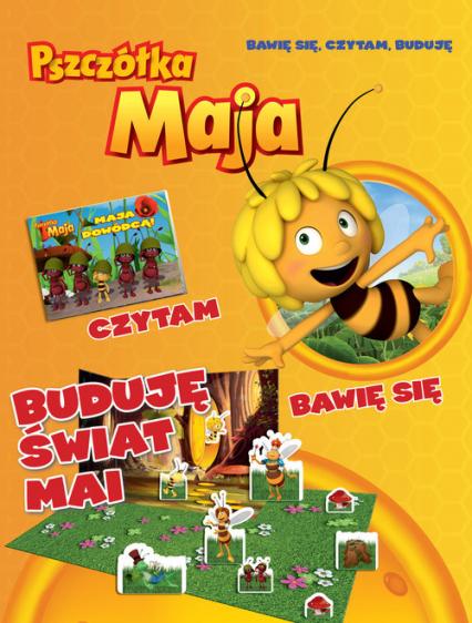 Pszczółka Maja Bawię się czytam buduję nr 1 -  | okładka