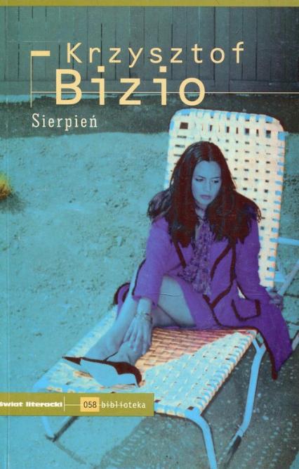 Sierpień - Krzysztof Bizio | okładka