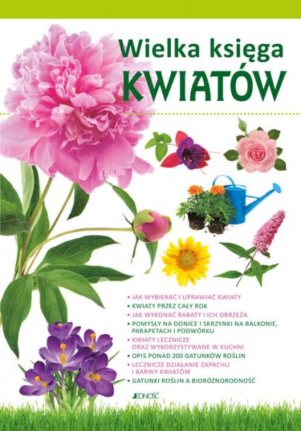Wielka księga kwiatów -  | okładka