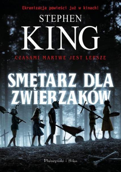 Smętarz dla zwierzaków - Stephen King | okładka