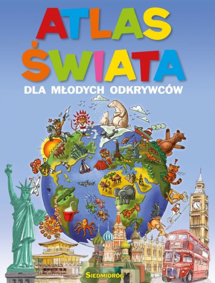 Atlas świata dla młodych odkrywców -    okładka