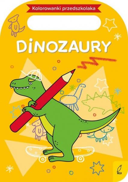 Kolorowanki przedszkolaka Dinozaury -    okładka