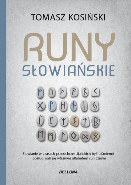 Runy słowiańskie - Tomasz Kosiński | okładka