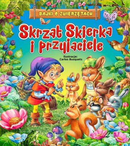 Skrzat Skierka i przyjaciele - Beata Wojciechowska-Dudek   okładka