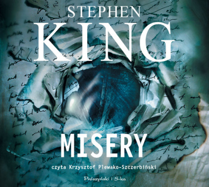 Misery (audiobook) - Stephen King   okładka