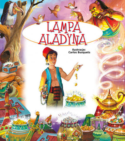 Lampa Aladyna - Beata Wojciechowska-Dudek | okładka