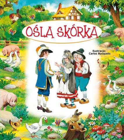 Ośla skórka - Beata Wojciechowska-Dudek | okładka