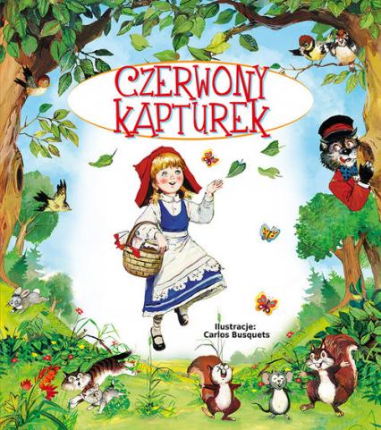 Czerwony kapturek - Beata Wojciechowska-Dudek | okładka