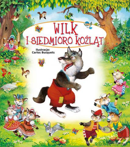 Wilk i siedmioro koźląt - Terka | okładka