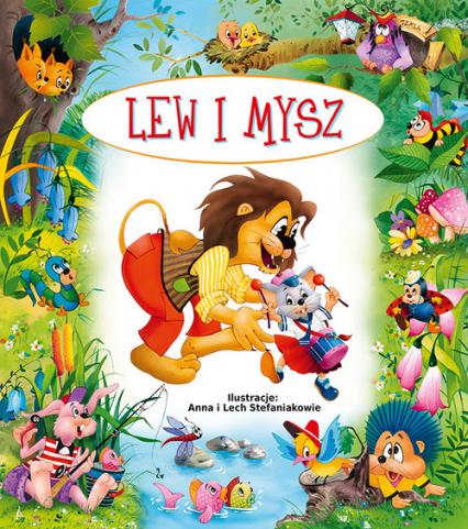 Lew i mysz - Beata Wojciechowska-Dudek | okładka