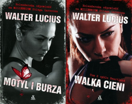 Motyl i burza / Walka Cieni Pakiet - Walter Lucius | okładka