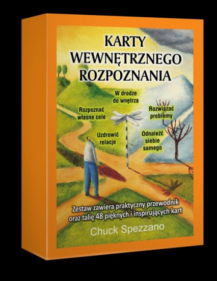 Karty Wewnętrznego Rozpoznania - Chuck Spezzano | okładka